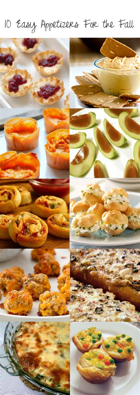 autumn appetizers 10 easy appetizers for the fall sunny slide up