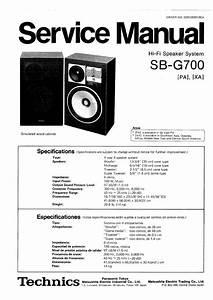Technics Sb-g700