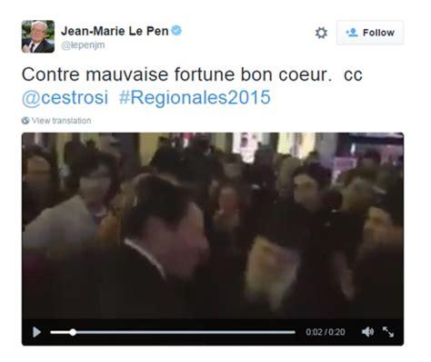 Si鑒e Front National - front national il tweet antisemita di jean le pen