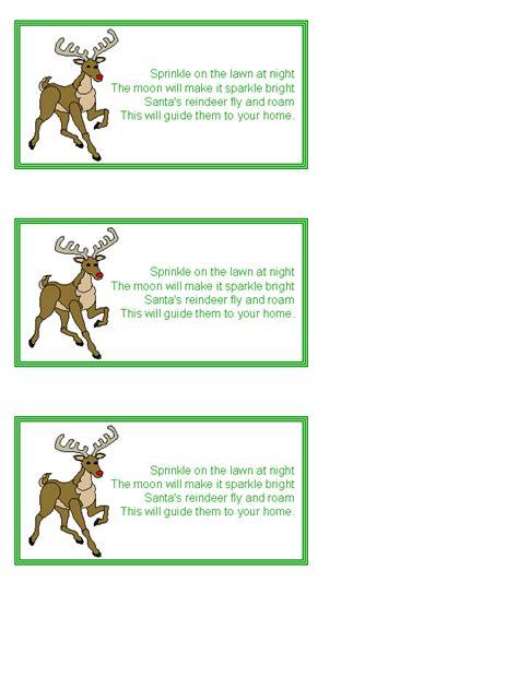 busy friends recipe swap reindeer food