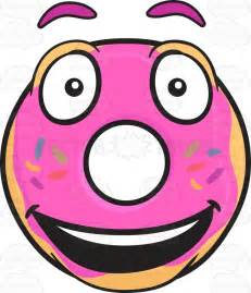 Emoji Face with Donut