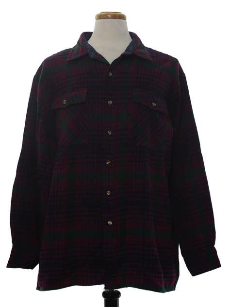 nineties vintage shirt  claybrooke outdoors mens