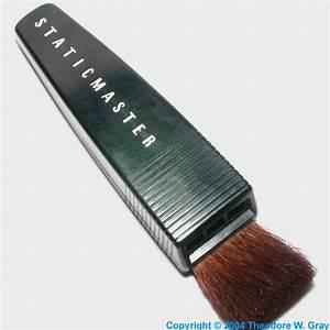 Antique Antistatic brush, a sample of the element Polonium ...