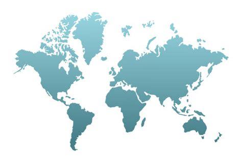 drawing  world map vector illustration