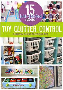 DIY: 15 Tips To Organize Your Kids Toys