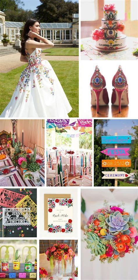 Monday Moodboard Mexican Folk Art wedding inspiration