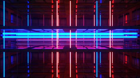 1080p Neon City Wallpaper by Neon Rooms Vj Pack Ghosteam Vj Loops Templates