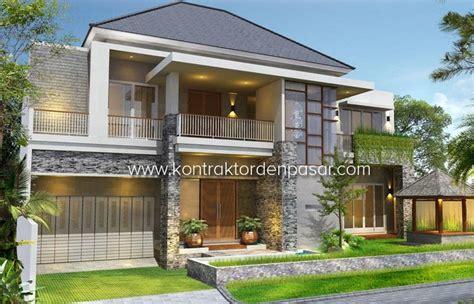 gambar desain rumah mewah tingkat contoh