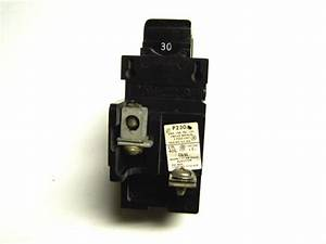 Pushmatic Bulldog Circuit Breaker 2p 30a     P230     Zf