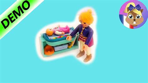 chambre de bébé playmobil la maman playmobil playmobil spécial la table à langer