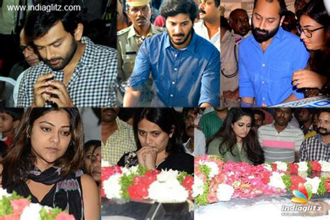 kannada actress kalpana funeral mollywood pays last respect to kalpana malayalam movie