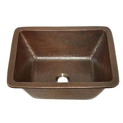 home depot copper sink sinkology hawking dual mount handmade pure solid copper