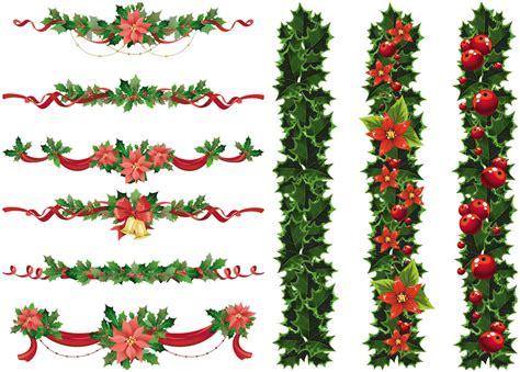 christmas decorative borders clip art 64
