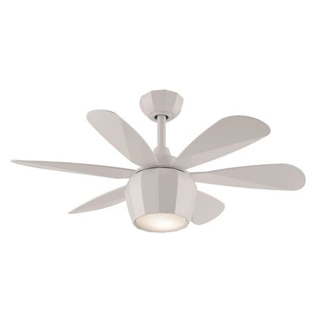 Ceiling Fan Blades White by Shop Fanimation Studio Collection Crease 36 In Matte White