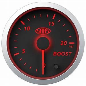 Saas Streetline Series Diesel Egt  U0026 Boost 20 Psi 52mm