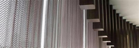 decorative wire mesh metal curtain facade decoration