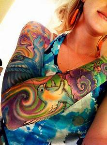 Colorful & Trippy | Tattoos | Pinterest