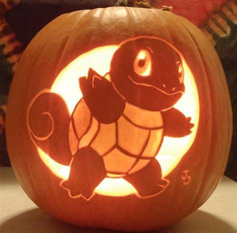 pumpkin squirtle carving pokemon easy lantern patterns halloween fans pumkin pumpkins geek deviantart templates johwee carvings digsdigs painted fall awesome