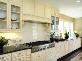 kitchen subway tile backsplash picking a kitchen backsplash hgtv