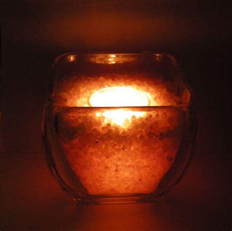 himalayan salt candle holder diy himalayan salt candle holder project organic
