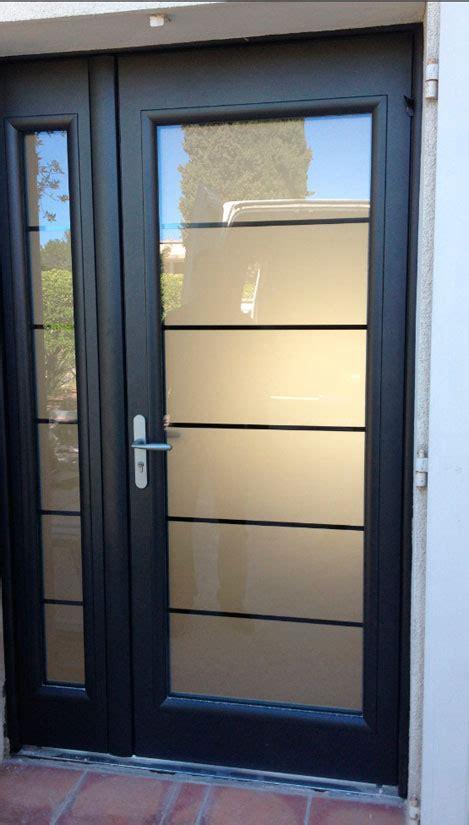 pose porte dentree aluminium isolation  renovation