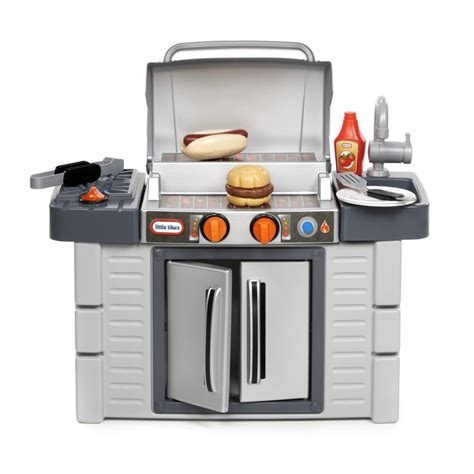 tikes kitchen with grill lovely tikes inside outside kitchen for your kid