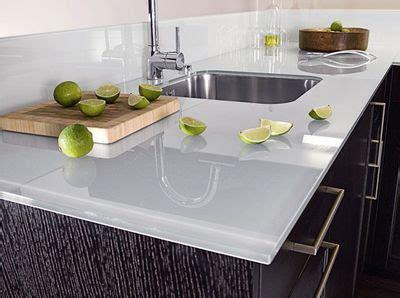 plan de travail cuisine en verre revêtements muraux crédence plan de travail