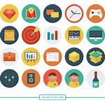 Icons Flat Icon Untuk Must Sets Website