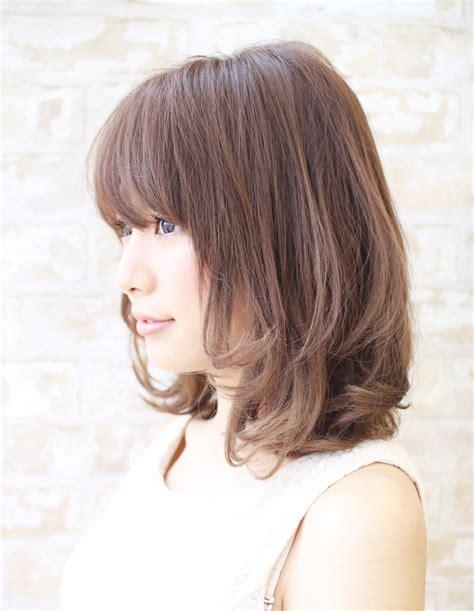 haircuts for 黒髪 暗髪パーマミディアム hi 21 ヘアカタログ 髪型 ヘアスタイル afloat アフロート 表参道 2747