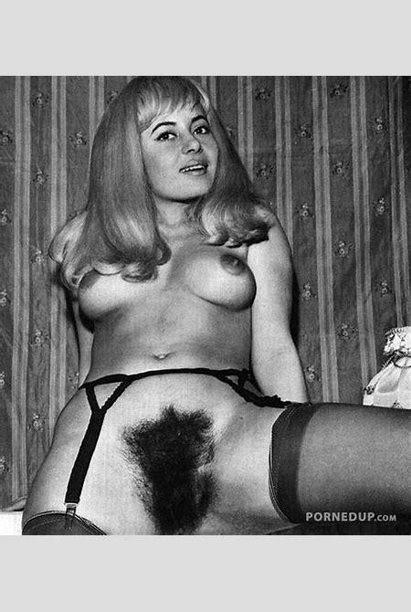 Retro Hairy Female Bush
