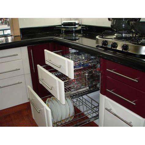 modern modular kitchen cabinets rs  square feet
