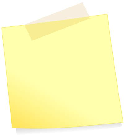 Post It Note Template Word