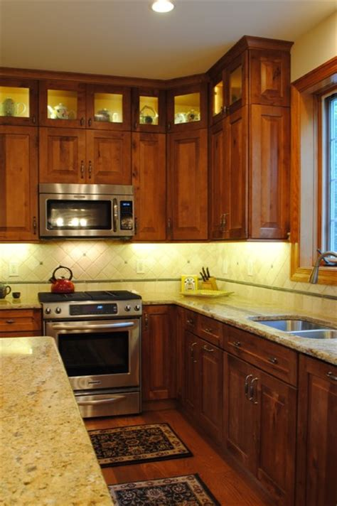 rustic birch kitchen rustic kitchen philadelphia  sterling kitchen bath