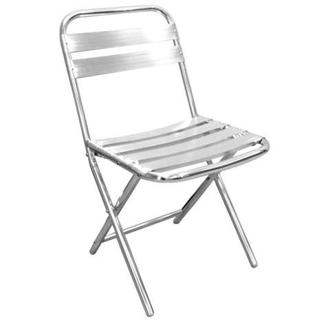 bolero aluminium folding chair price per 4 pieces