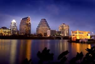 Austin Texas Skyline at Night