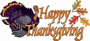 Happy Thanksgiving Turkey Clipart - ClipartXtras