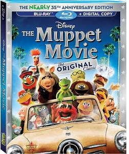 Disney Film Project: The Muppet Movie Blu-ray Review