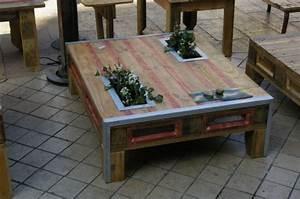 Plan De Table Palette : meuble recup palette l 39 habis ~ Dode.kayakingforconservation.com Idées de Décoration