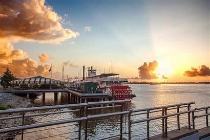 Orleans Mississippi River Steamboat