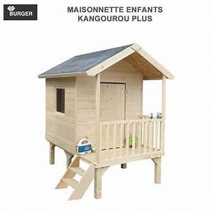 Cabane En Bois Pour Enfant : cabane en bois enfants kangourou plus 333 burger ~ Dailycaller-alerts.com Idées de Décoration