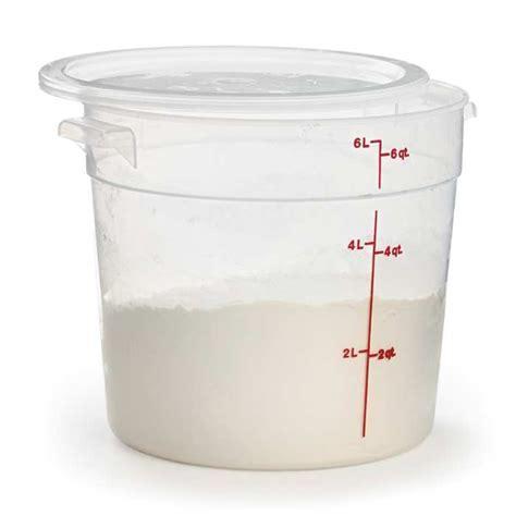 Extra Large Dough Rising Bucket