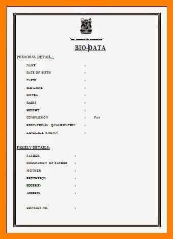 14272 simple personal biodata format 8 simple personal biodata format legacy builder coaching