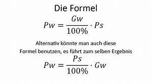Prozentwert Berechnen Arbeitsblatt : prozentrechnung mit formeln zum prozentrechnen ~ Themetempest.com Abrechnung