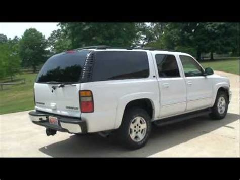 2004 CHEVROLET SUBURBAN LT 4WD TV DVD FOR SALE SEE WWW ...