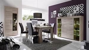 meuble de salle a manger moderne en bois avec eclairage With couleur de meuble tendance 5 buffet haut chene clair moderne crossing