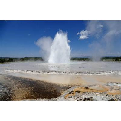 Yellowstone History: Great Fountain Geyser -