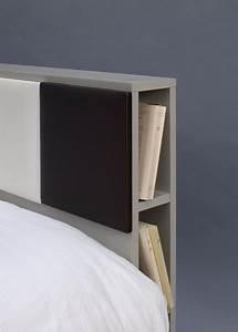 Tete De Lit 180 Avec Rangement : t te de lit avec rangements sur mesure mobilier les pieds sur la table ~ Teatrodelosmanantiales.com Idées de Décoration