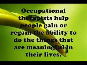 Occupational Therapy & Mental Health.wmv - YouTube