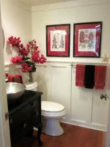 Cheap Decorating Ideas For Bathrooms Freshen Up The Powder Room