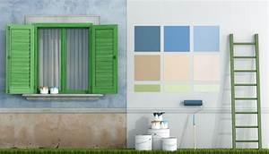 Peinture Pour Mur Extérieur : peinture mur ext rieur les conseils peinture pour vos ~ Dailycaller-alerts.com Idées de Décoration